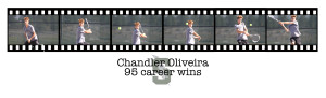 Chandler 95 wins